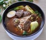 台式牛肉麵 Spicy Beef Noodle Soup Image
