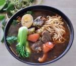 番茄牛肉麵 Beef w. Tomato Noodle Soup