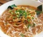 榨菜肉丝汤面 Pickle Cabbage w. Pork Noodle Soup