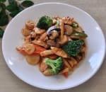 什菜雞片 Chicken w. Mixed Vegetable