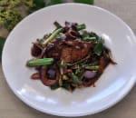 沙茶蔥爆牛 Scallion Beef w. Shacha Sauce Image