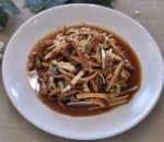 韭黃香干肉絲 Shredded Pork w. Yellow Chive & Dry Bean Curd Image