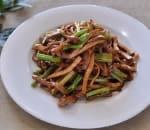 芹菜香干肉丝 Shredded Pork w. Celery & Dry Bean Curd Image