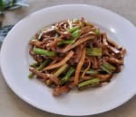 芹菜香干肉丝 Shredded Pork w. Celery & Dry Bean Curd Image