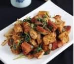 孜然豆腐 Cumin Tofu
