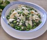 雪菜百葉毛豆 Snow Cabbage, Edamame w. Bean Curd Sheet Image