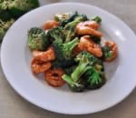 芥蘭大蝦 Prawn w. Broccoli Image