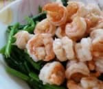 蝦球豆苗 Prawn w. Snow Pea Leaves