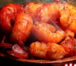Spicy Prawn w. Chili Sauce (dry) Image