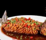 松子全魚 Crispy Fish w. Pine Nuts in Sweet and Sour Sauce Image