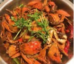 Spicy Blue Crab w Chili Sauce