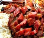 Triple Roast Treasure over Rice Image