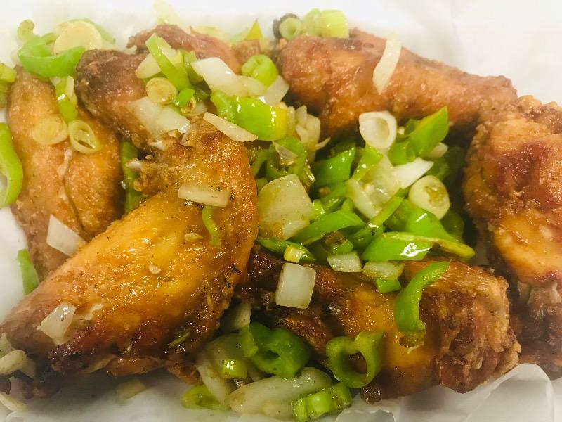 Salt & Pepper Chicken Wings Image