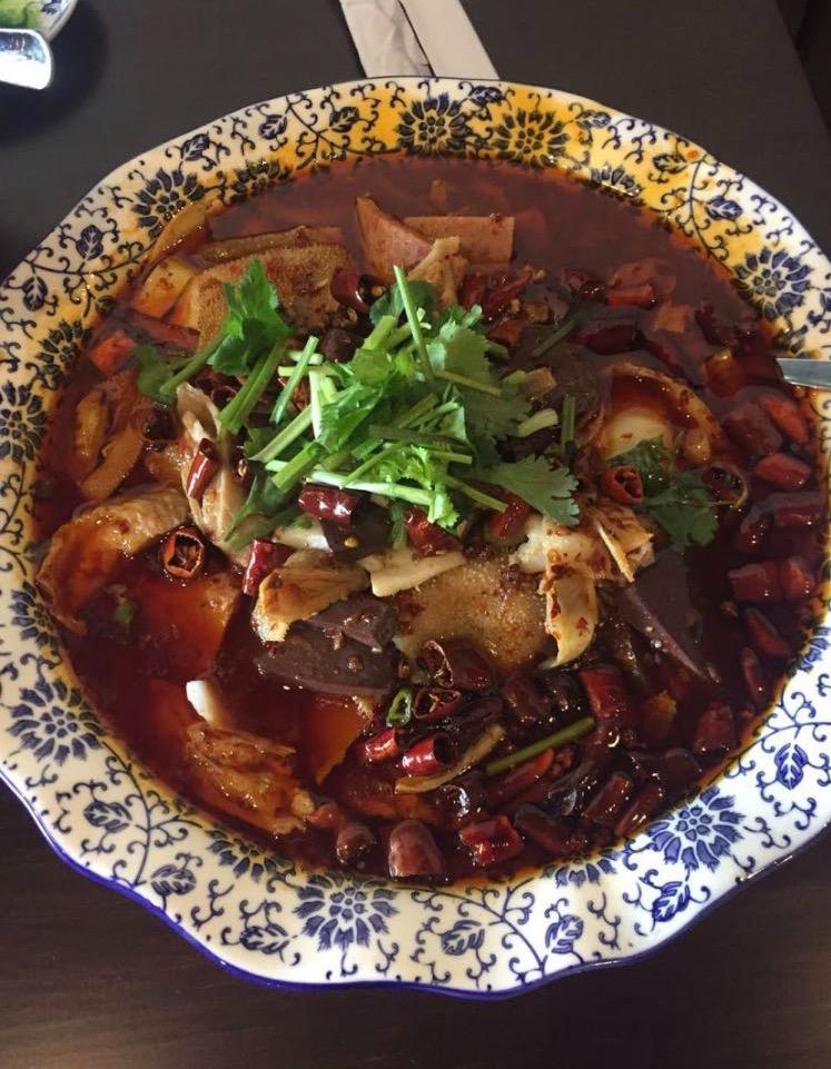 S24. Chongqing Style Pork Blood Curd 一品毛血旺 Image