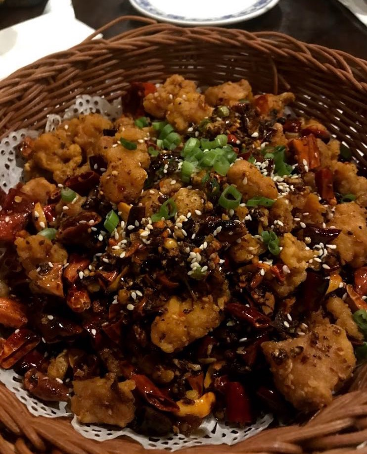 S13. Crispy Chicken Sauteed Pepper 脆椒辣子鸡丁 Image