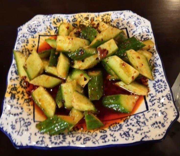 11. Cucumber Spicy 脆口黄瓜