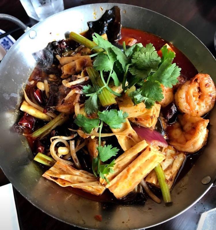 S3. Dry Pot Jumbo Shrimp 干锅大虾
