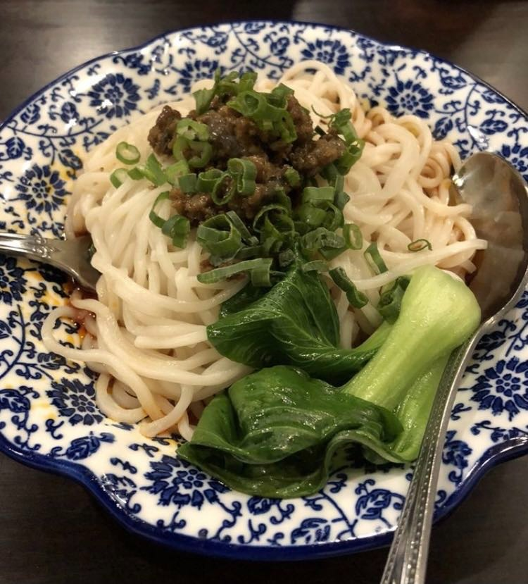15. Dan Dan Noodle w. Mixed Pork 担担面