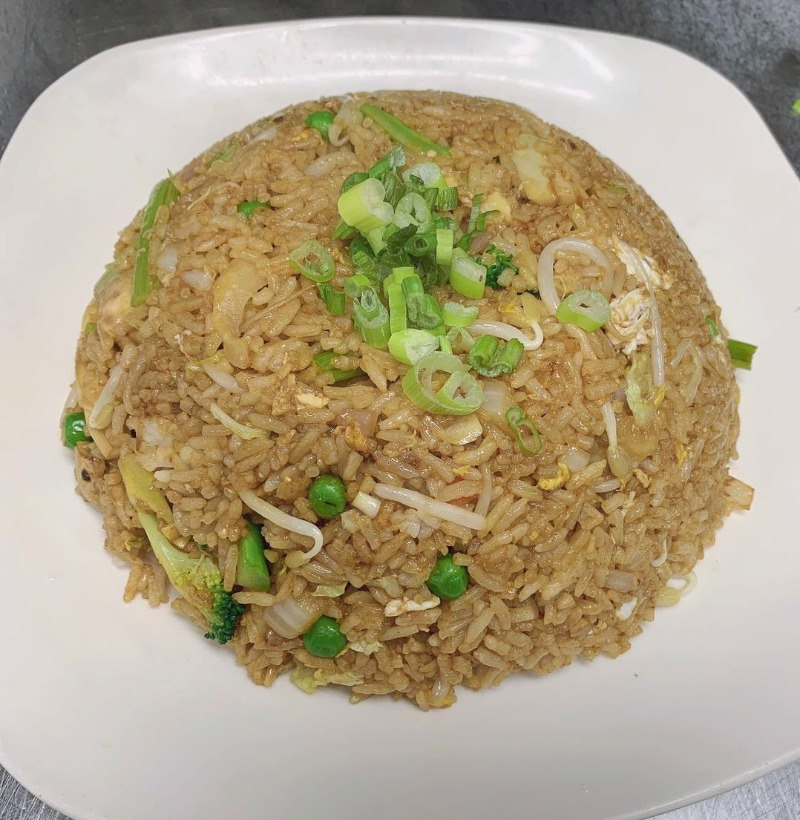 Vegetable Fried Rice 菜炒饭