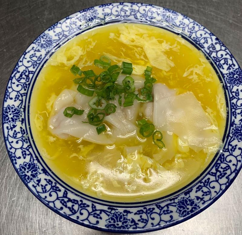 shangwei szechuan  bethlehem  26 wonton egg drop soup