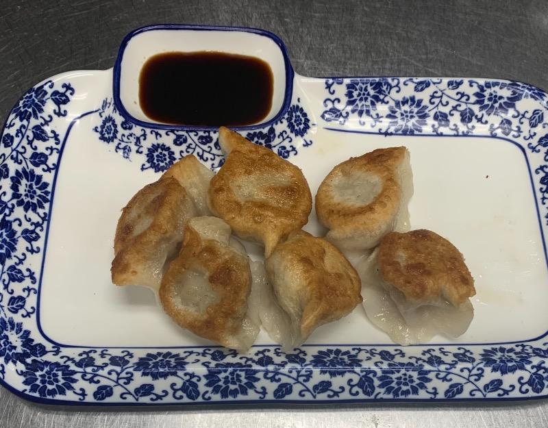 16. Dumpling Pan Fried (6 Pcs) 锅贴 Image