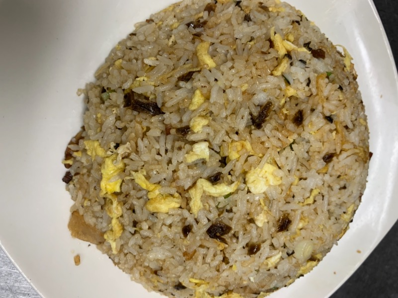 35. Smoky Pork Sprout Fried Rice 腊肉芽菜炒饭 Image
