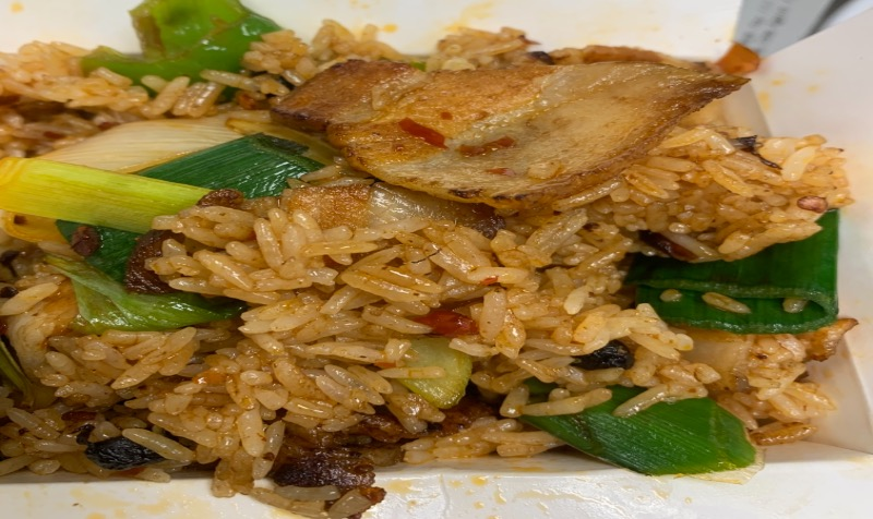 36. Double Cooked Pork Fried Rice 回锅肉炒饭