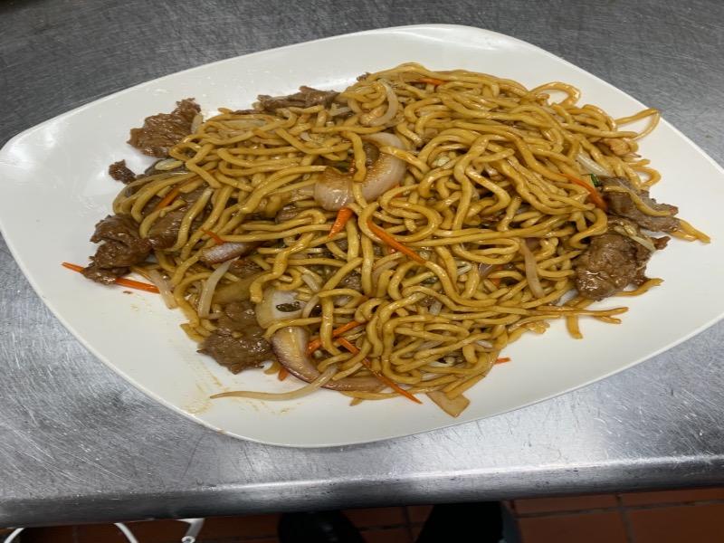 40. Beef Lo Mein 牛肉捞面 Image