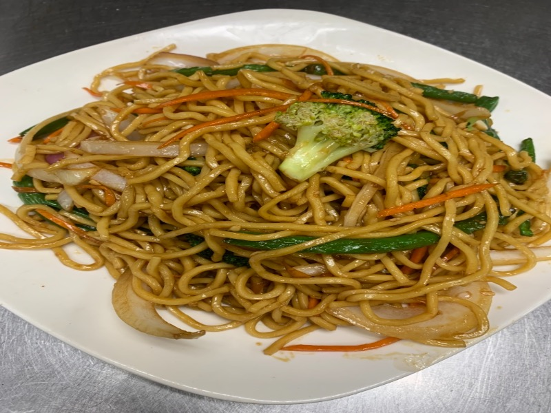 44. Vegetable Lo Mein 素菜捞面 Image