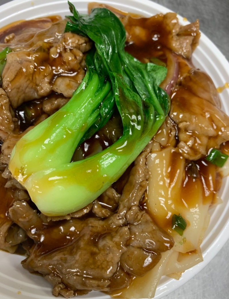 47. Wet Stir-Fried Ho Fun Beef 湿炒牛河 Image