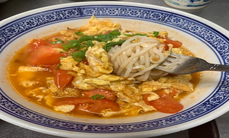 50. Tomato And Egg Noodle 番茄鸡蛋面 Image