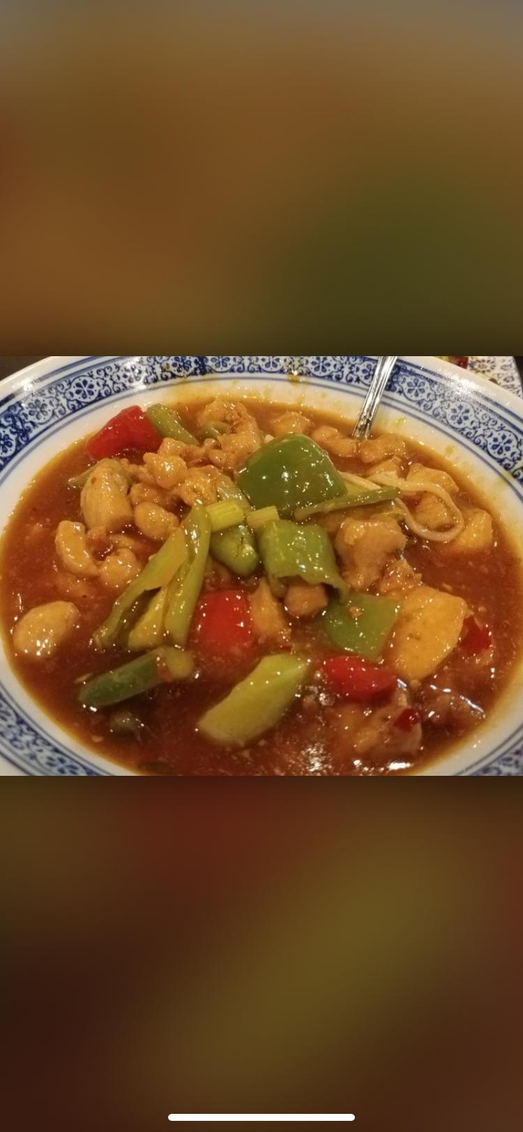 54. Double Pepper Chicken Noodle 双椒鸡丁面