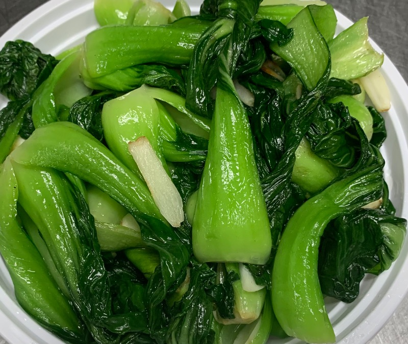 68. Sauteed Baby Bok Choy in Garlic 蒜炒上海苗