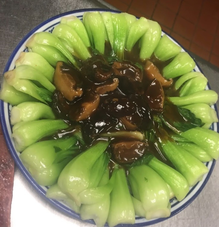 69. Baby Bok Choy w. Black Mushroom 香菇菜心 Image