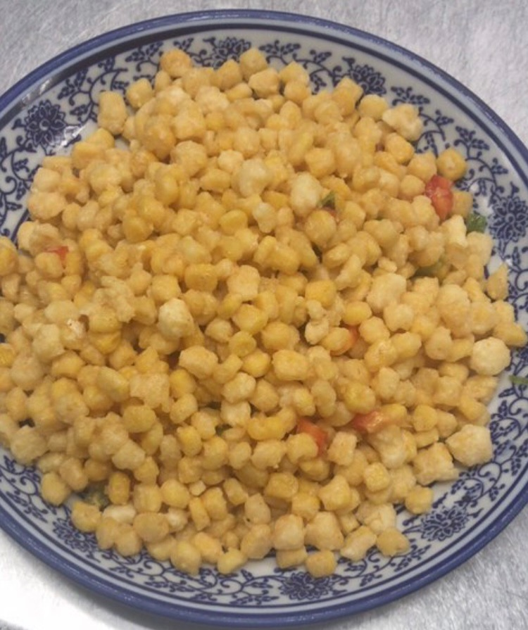 70. Stir Fried Corn 金沙玉米 Image
