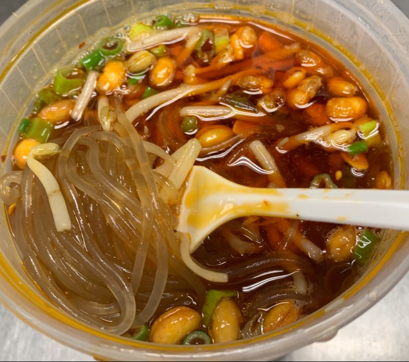 72. Hot and Sour Rice Noodles 酸辣粉 Image