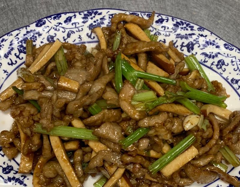 74. Shredded Pork w. Seasoning Tofu 香干肉丝 Image