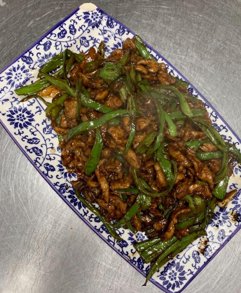 81. Shredded Pork Pepper 小椒肉丝 Image