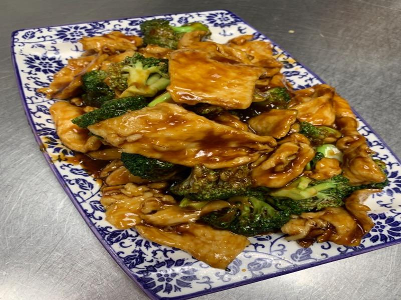 92. Broccoli Chicken 芥兰鸡片 Image
