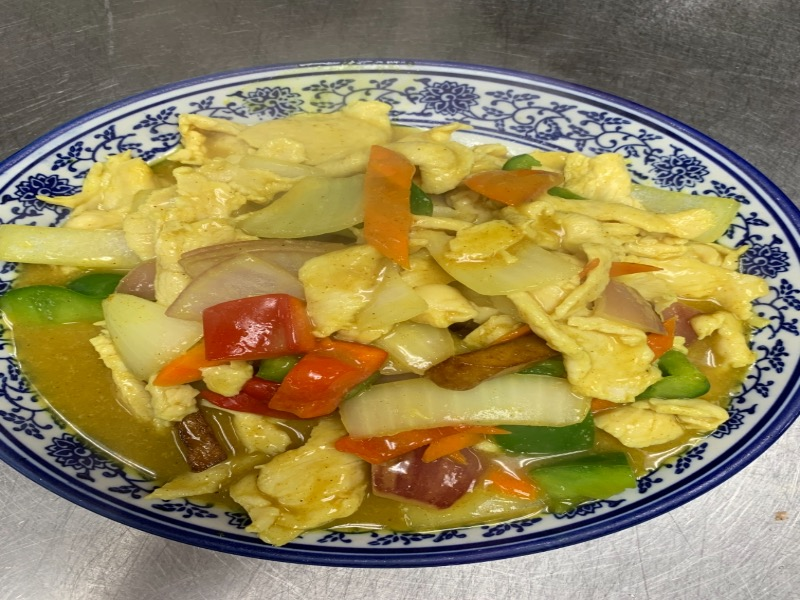98. Curry Chicken 咖喱鸡 Image