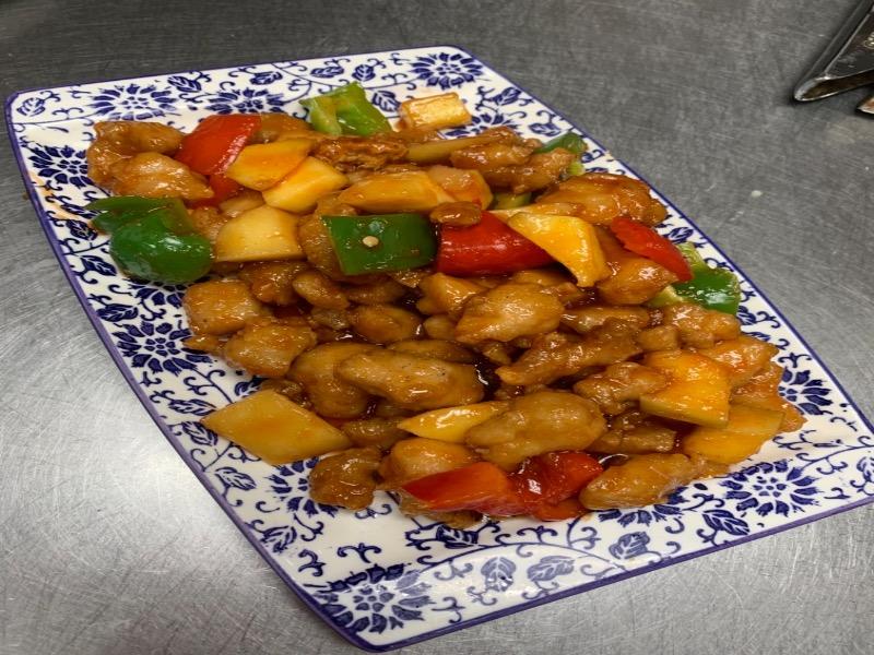 99. Mango Chicken 芒果鸡 Image