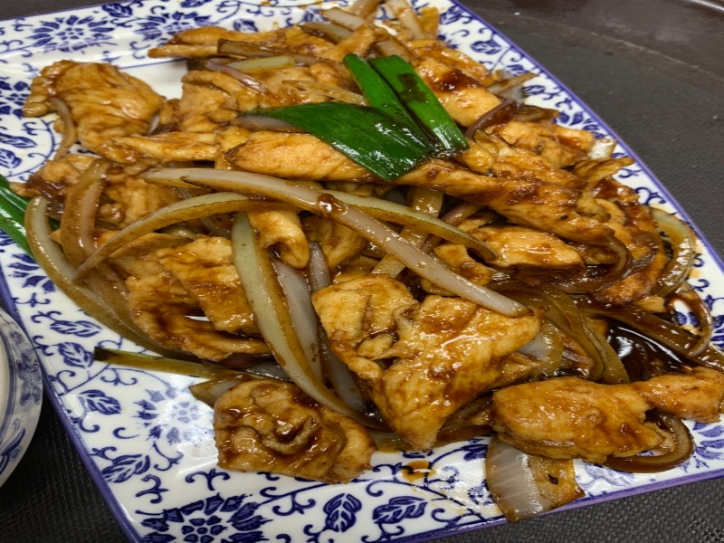 97. Mongolian Chicken 蒙古鸡