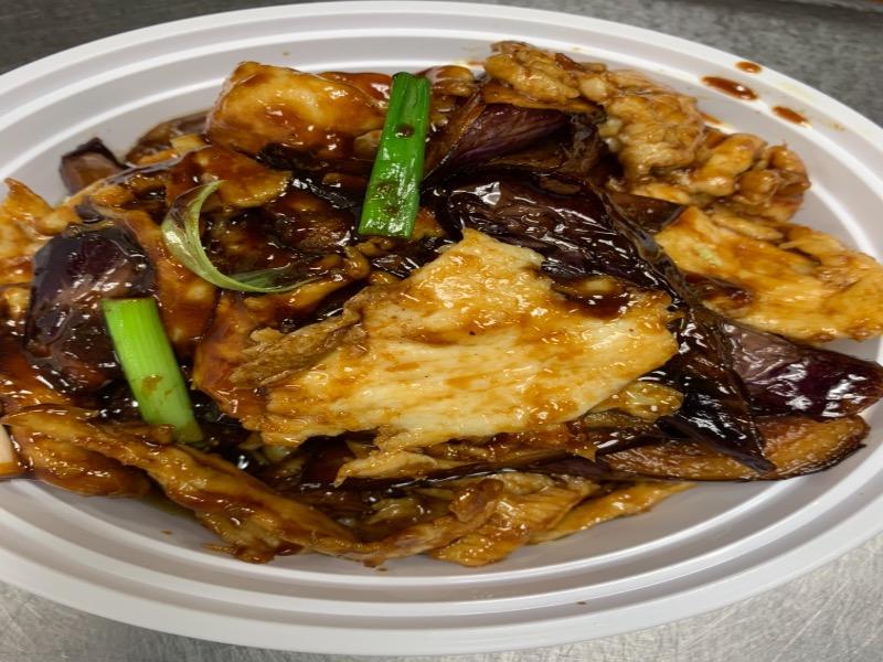 104. Eggplant Chicken 茄子鸡肉