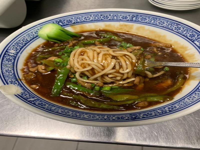 52. Shredded Pork w. Pickled Vegetable Noodle Soup 酸菜肉丝面 Image