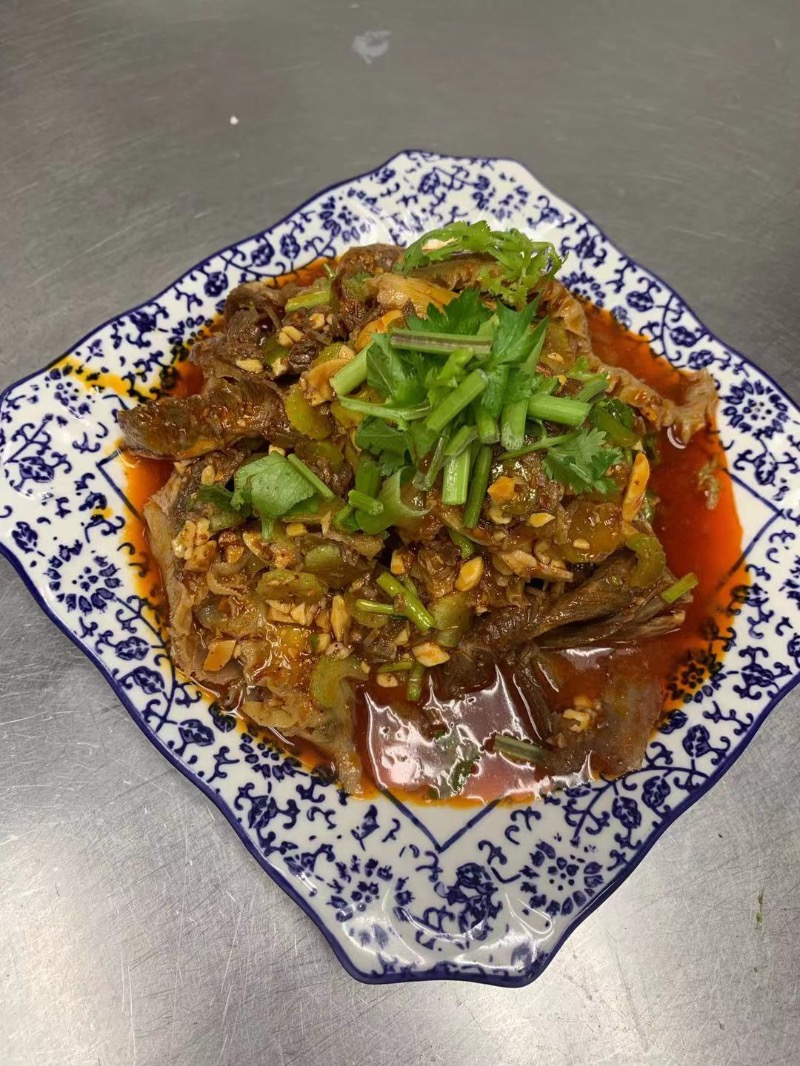 1. Beef Triple Tongue in Chili Oil (Cold) 夫妻肺片 Image