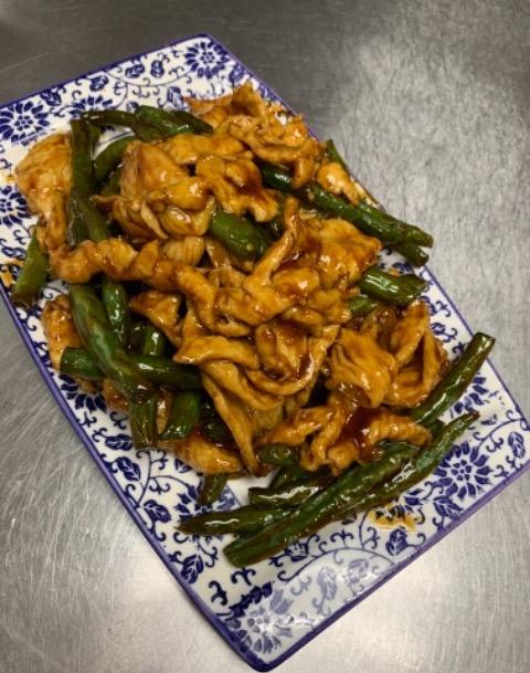 95. String Bean Chicken 四季豆鸡