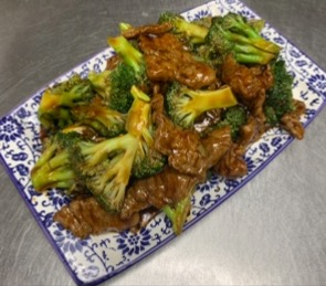 109. Broccoli Beef 芥兰牛肉 Image