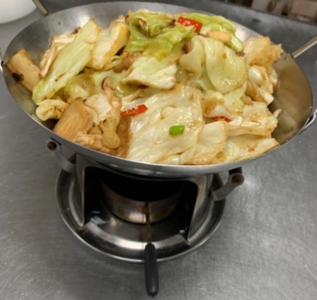 S4.Dry Pot Chinese Vegetable 干锅手撕包菜 Image