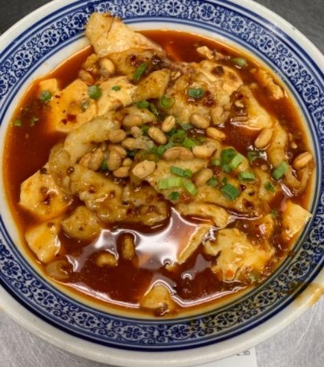 127. Fish Fillet in Silk Tofu 豆花鱼片