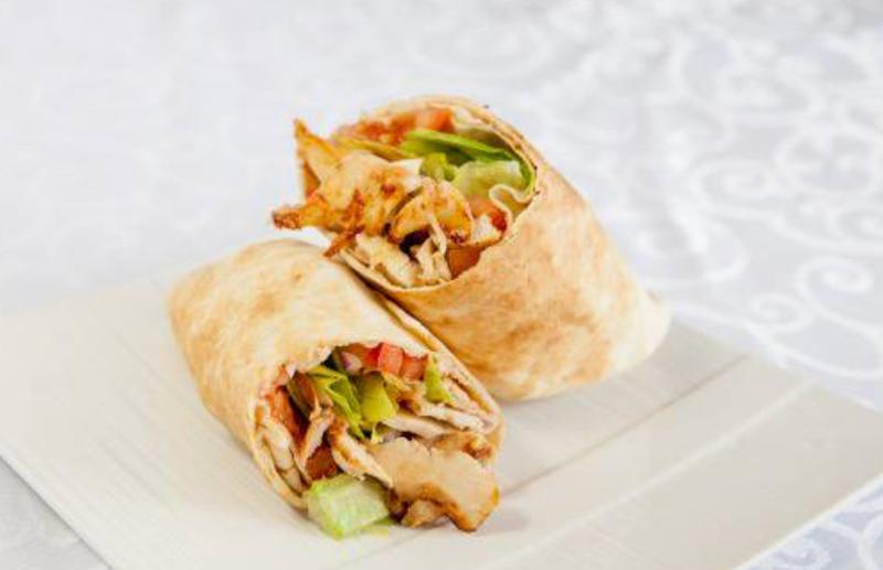 Chicken Shawarma Wrap Image